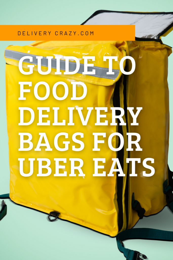 Guide to Food Delivery Bags for Uber Eats
